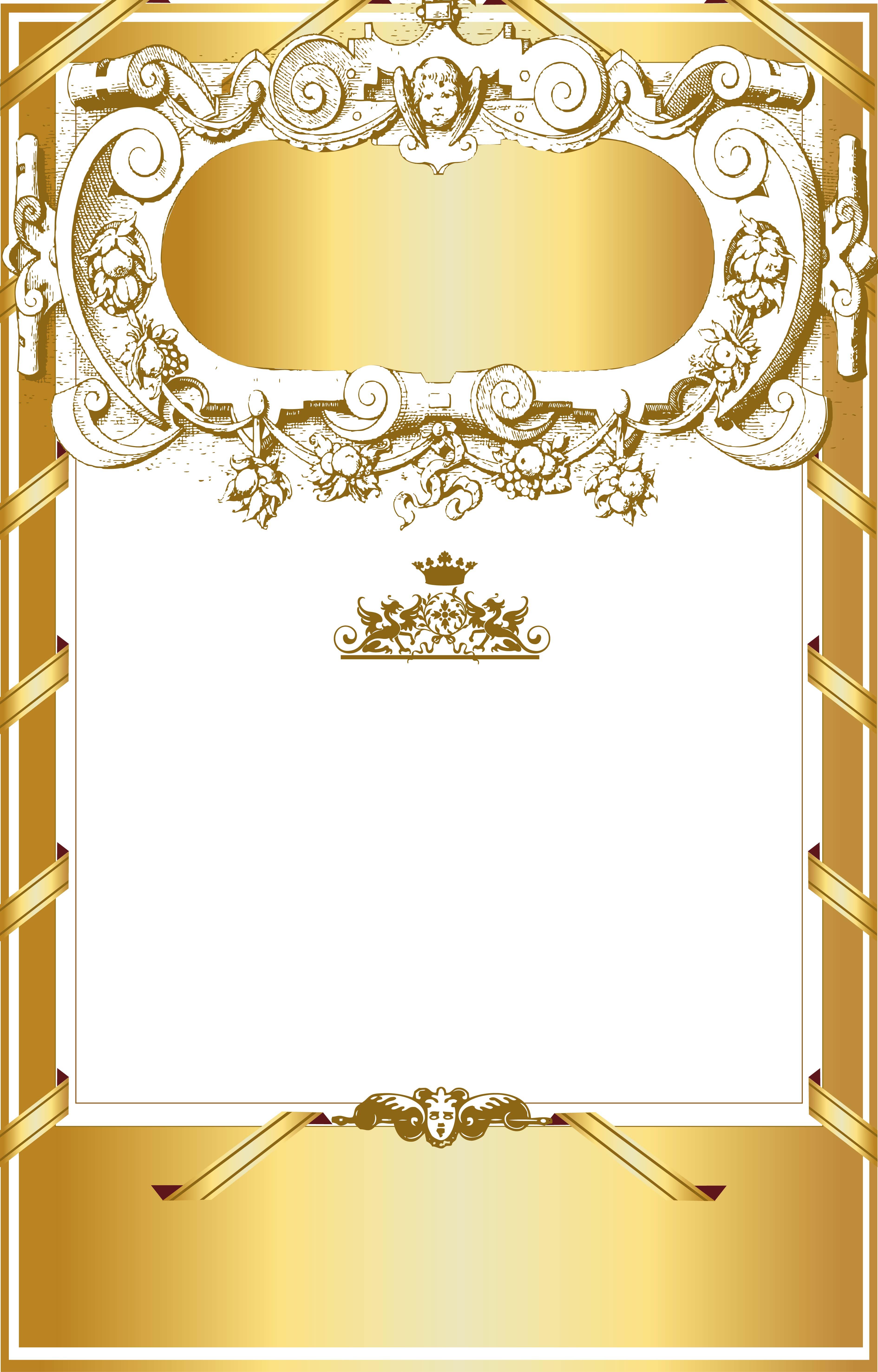 gold border pattern background material  pattern  frame