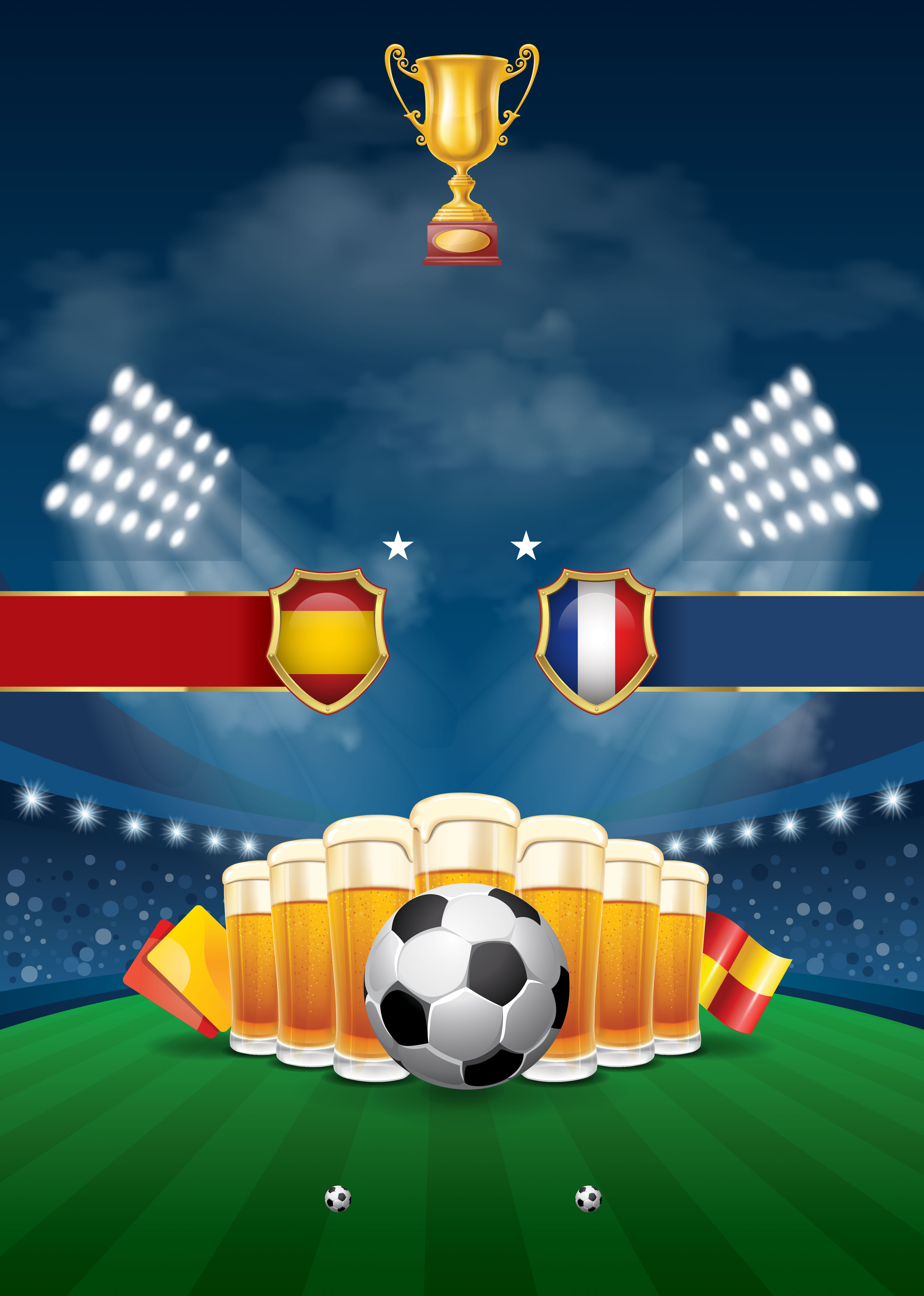 Passion World Cup Soccer Poster Background Template  Football  Poster  Physical Background Image