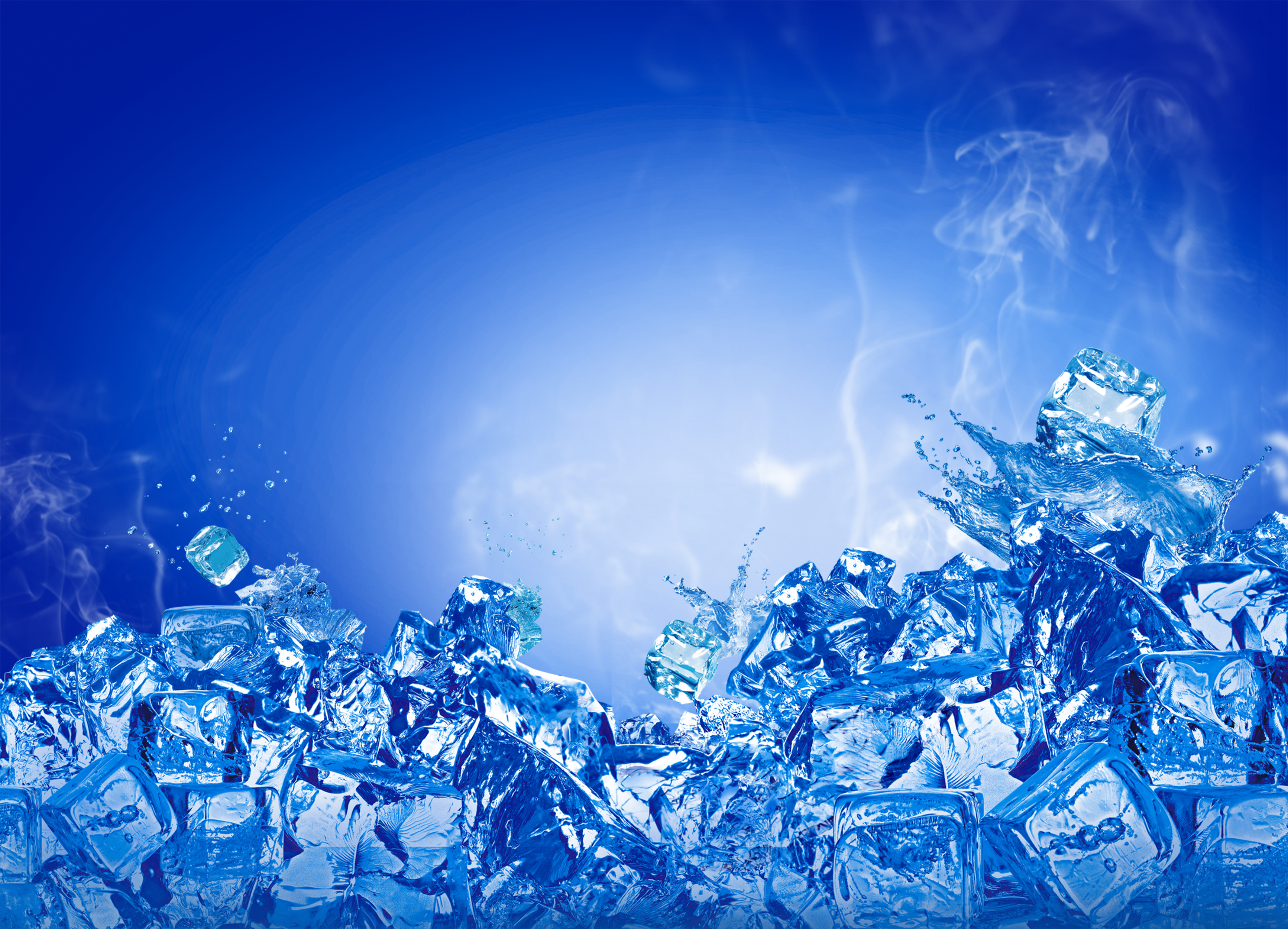 summer ice poster background  summer  ice  cubes