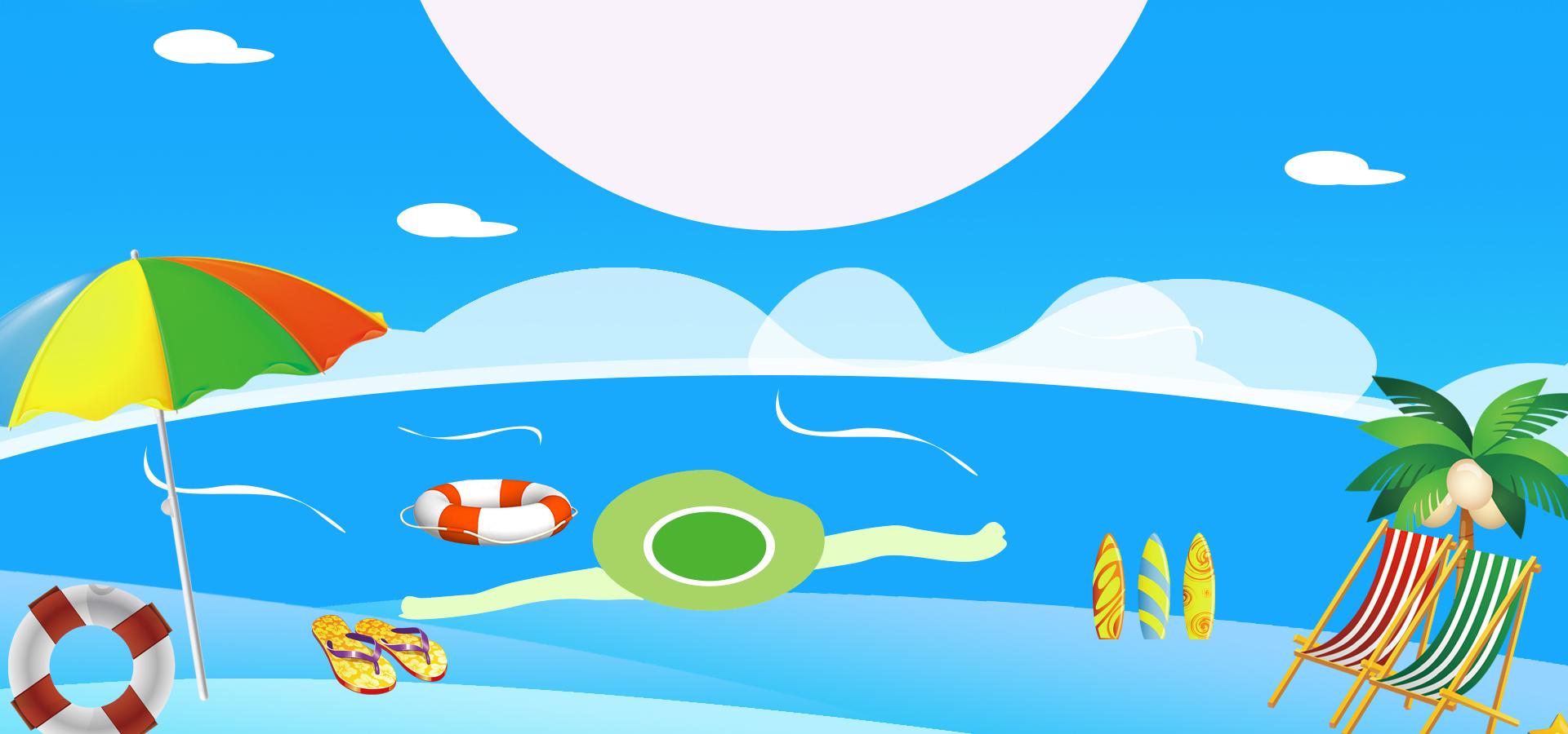 soleil d  u00e9t u00e9 au bord de la mer de fond de la plage d