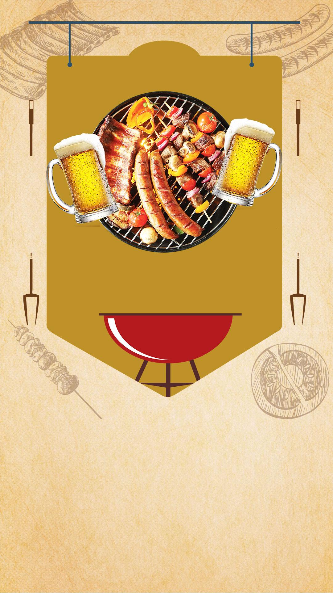 material de fundo de promo u00e7 u00e3o churrasqueira gourmet h5