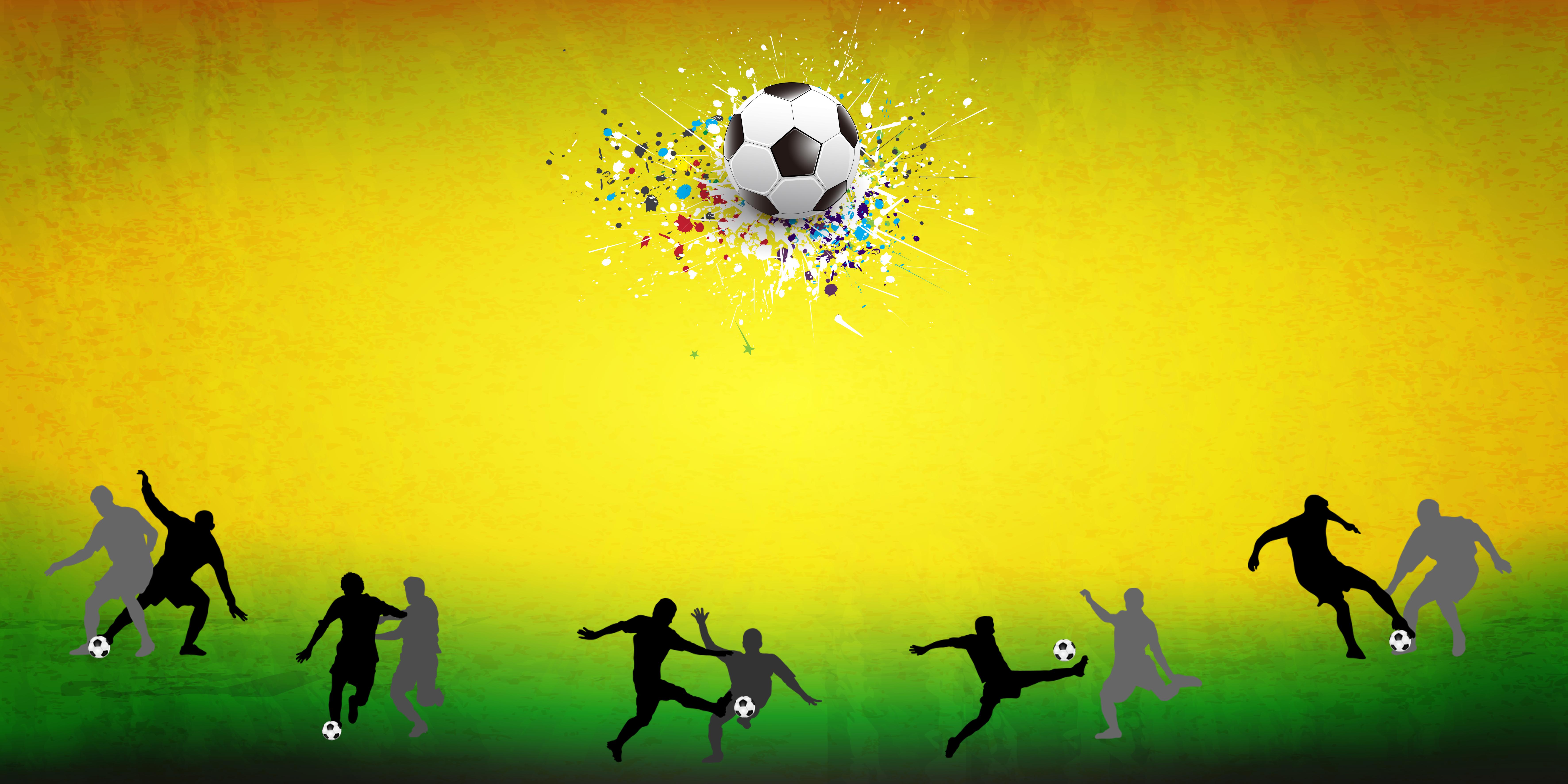 shoot silhueta bola futebol background futebol jogo atleta