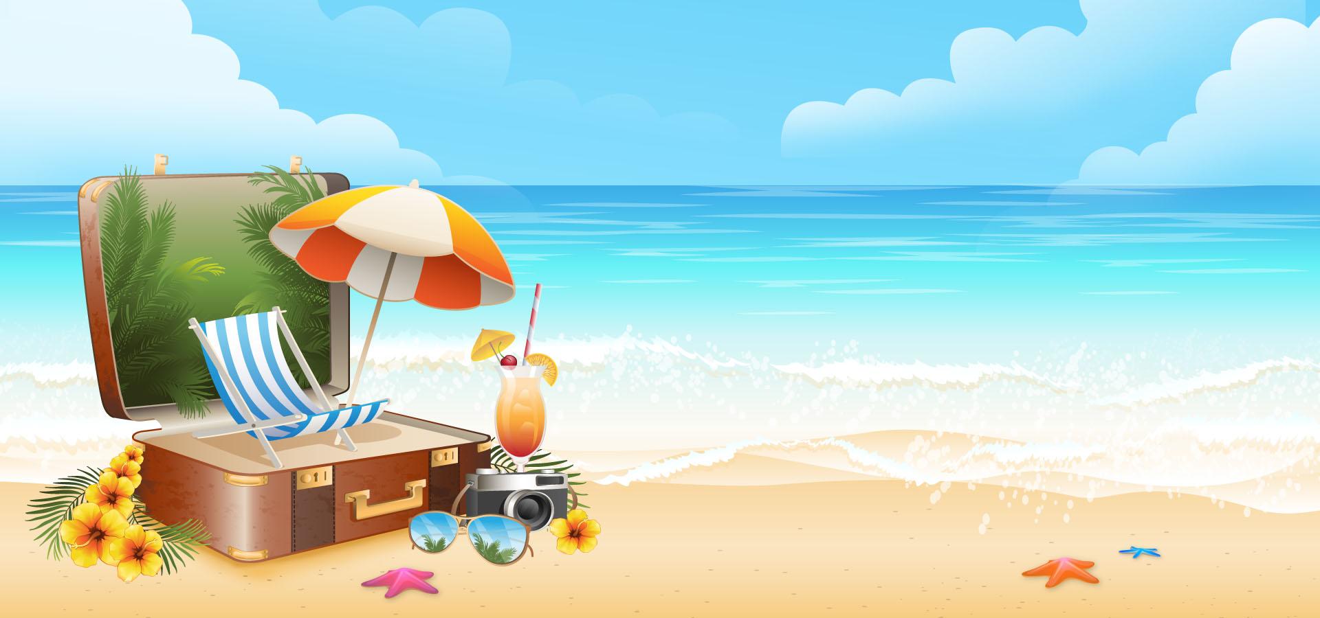 summer summer poster background  summer  midsummer  fun