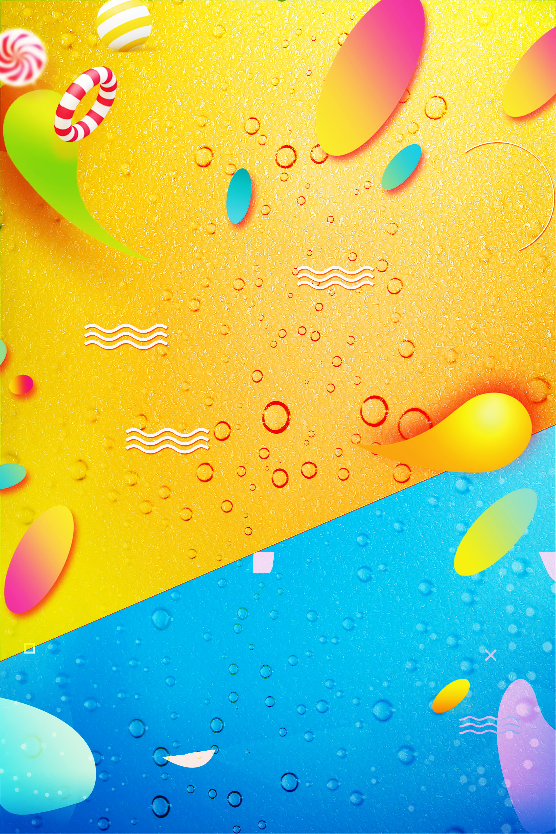 creative summer cool drink background template  fruit juice  summer  cool summer drink