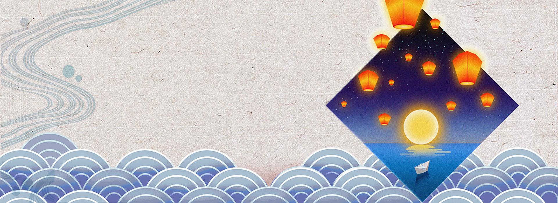 le festival des lanternes classique chinois vent fond gris