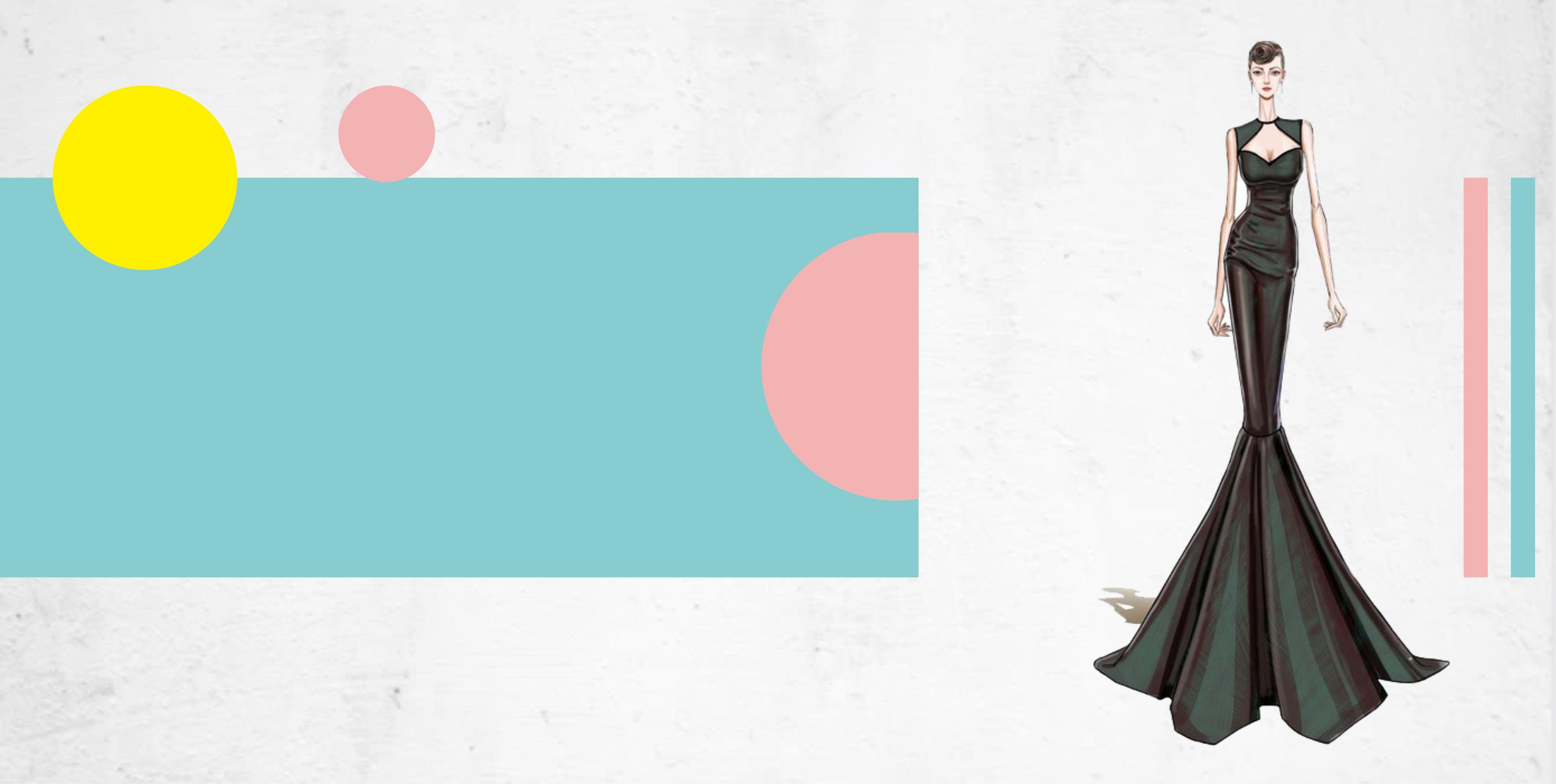 fashion fashion creative vector display background