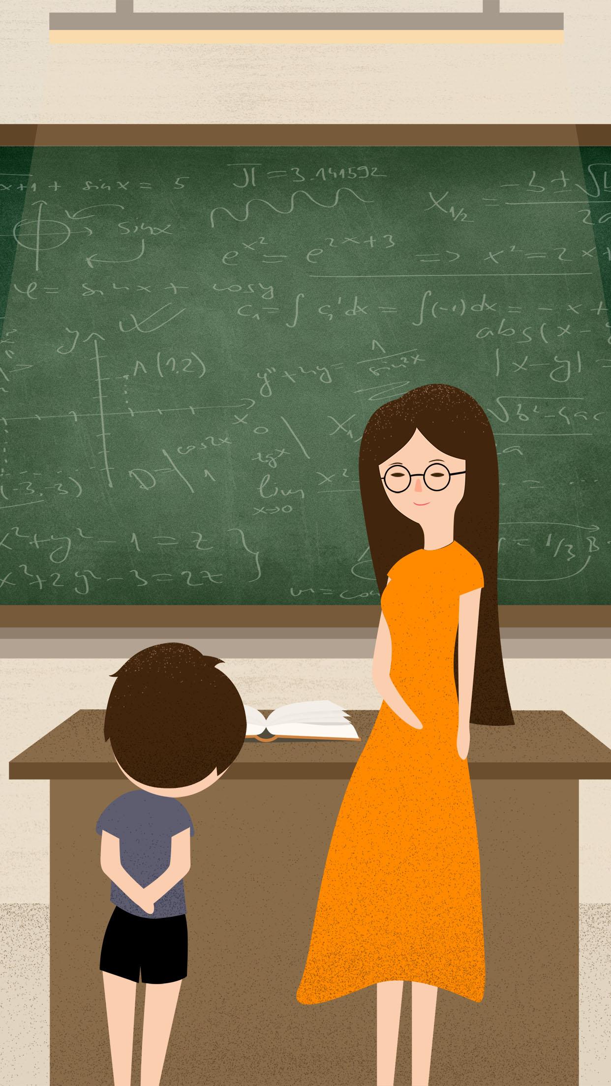 Картинки учительница у доски