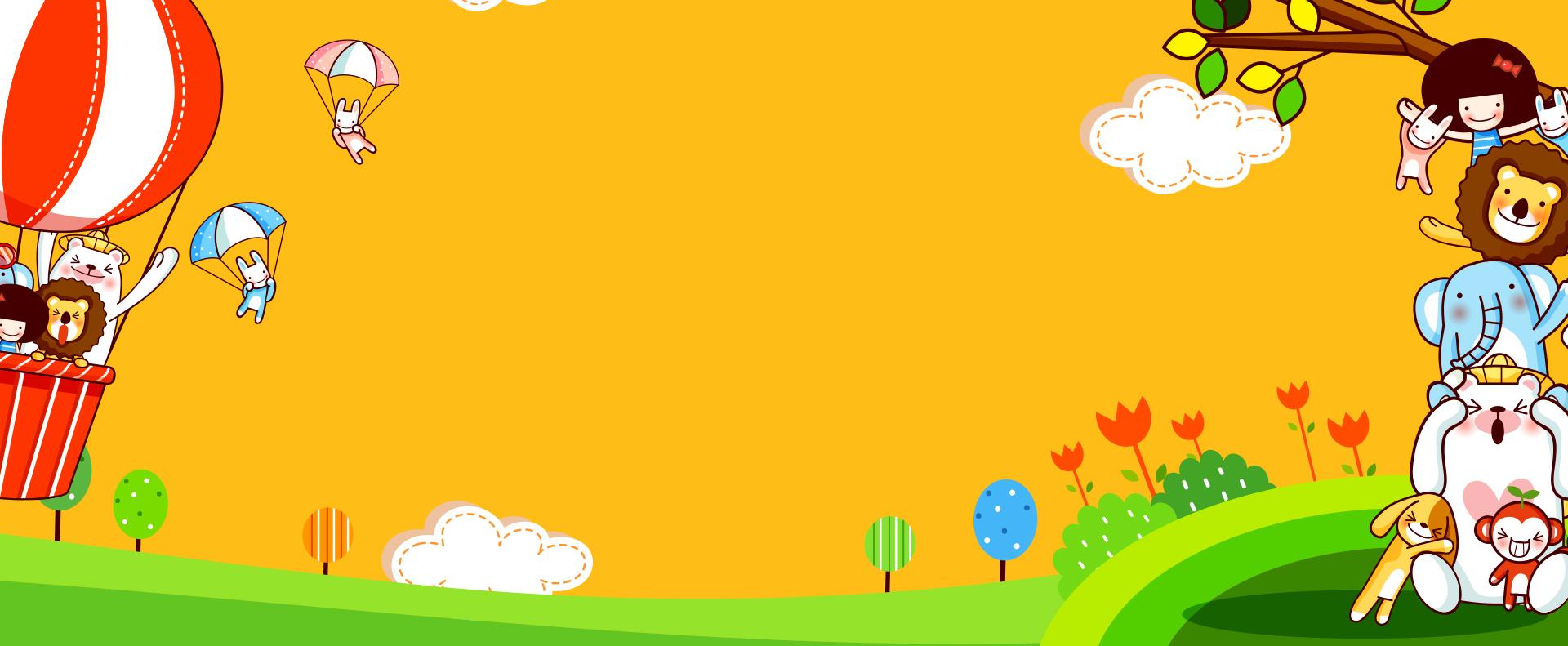 le carnaval de dessin simple jaune de banni u00e8re  u00e9cole l
