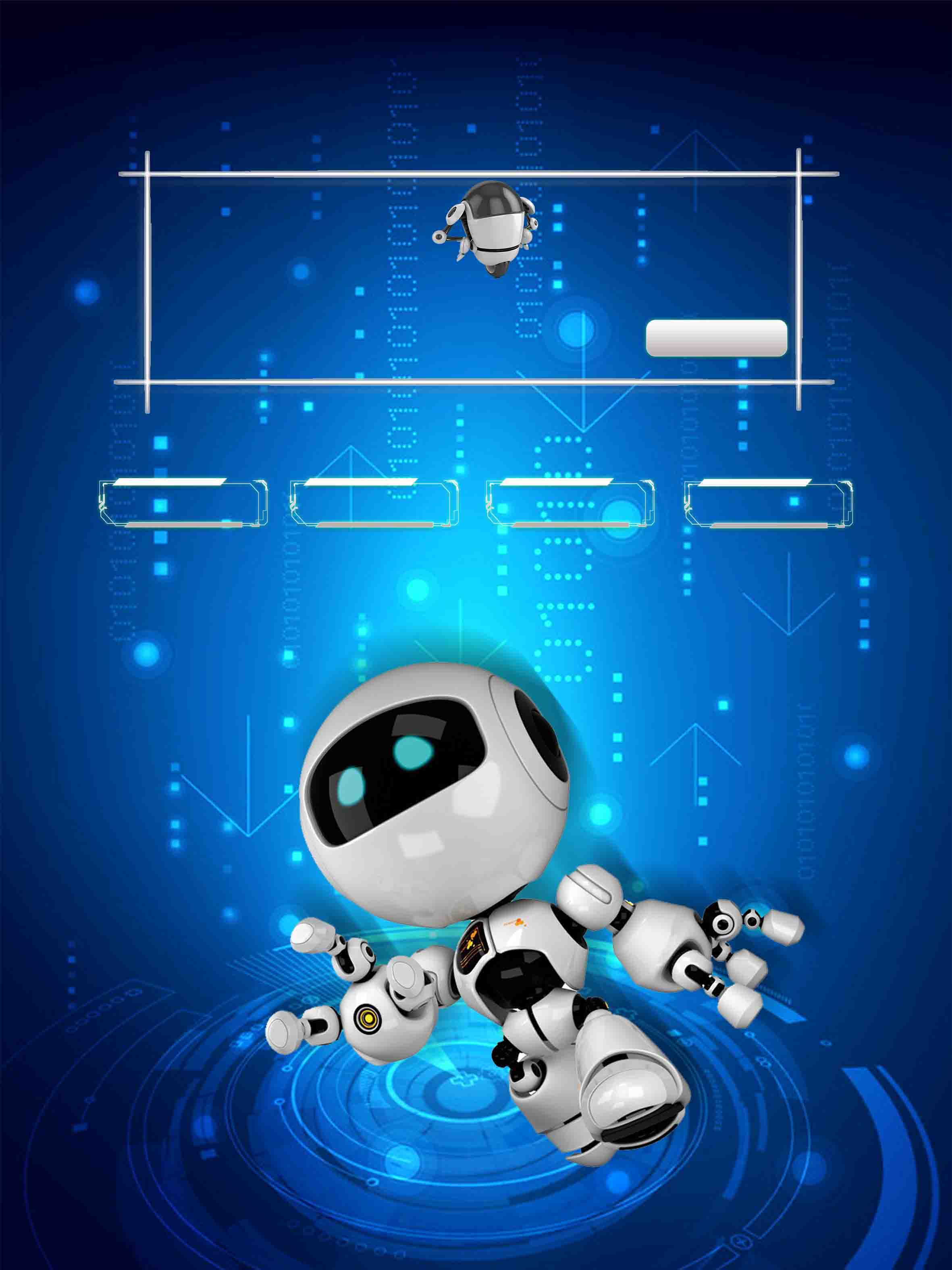 robotics  artificial intelligence  technology  robot  artificial  intelligence background image