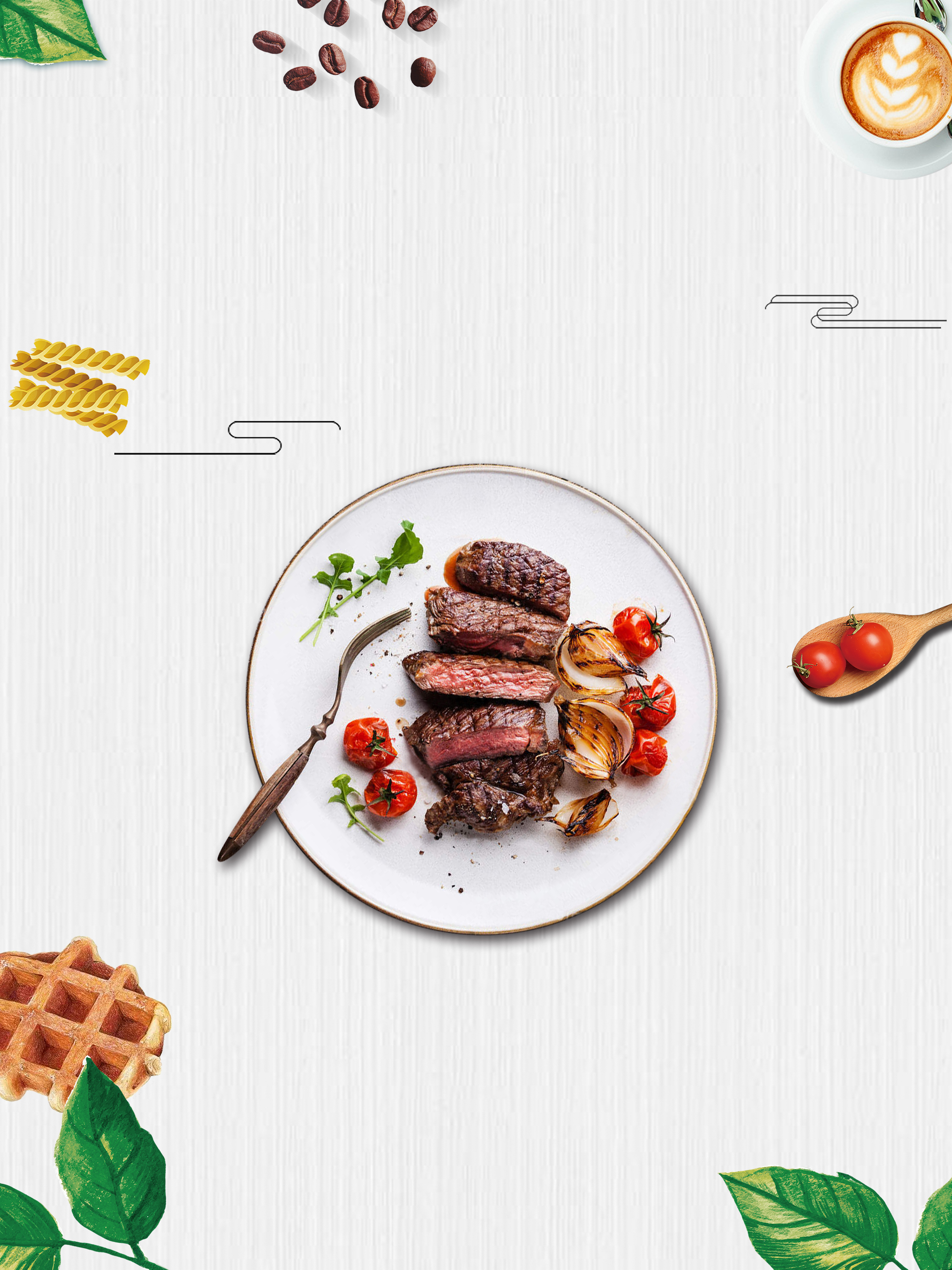 Wallpaper Food Cooking Grill Vegetables Peppers: Food Plate Pepper Meat Background, Healthy, Cuisine