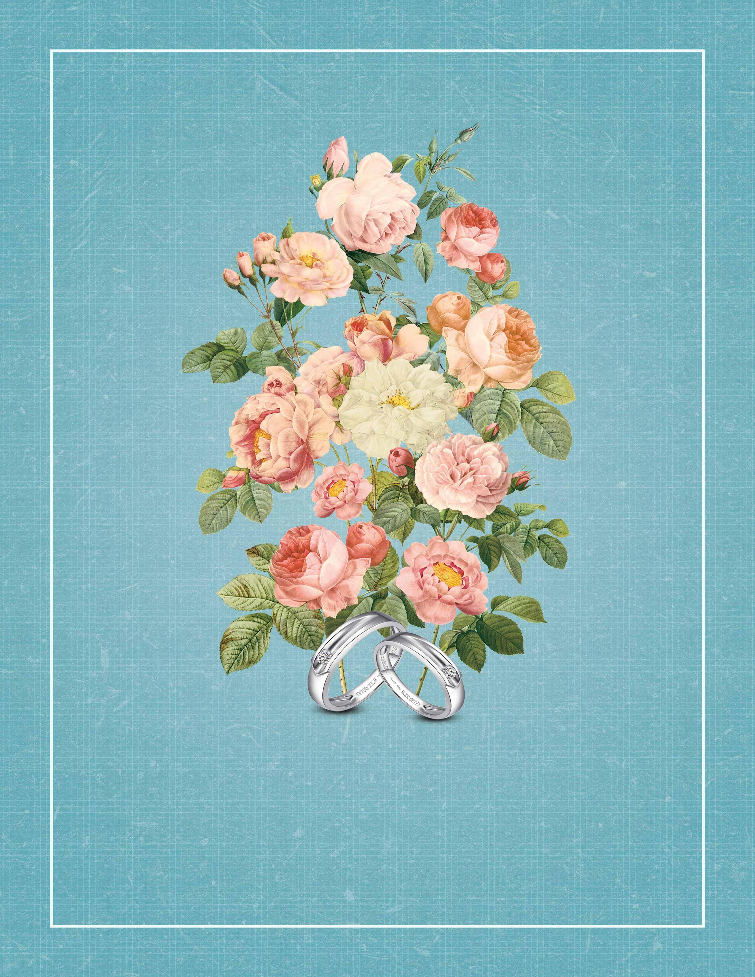 ff124810b61a3b Retro Hand gemalten blumen schmuck Werbe plakate im hintergrund Retro  Handbemalte Blumen Hintergrund, Foto und Bild zum kostenlosen Download