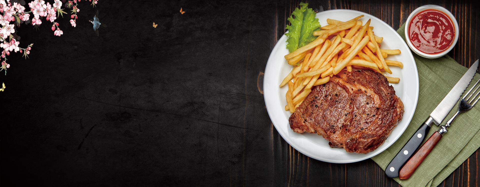 comida la cena almuerzo placa antecedentes la carne plato