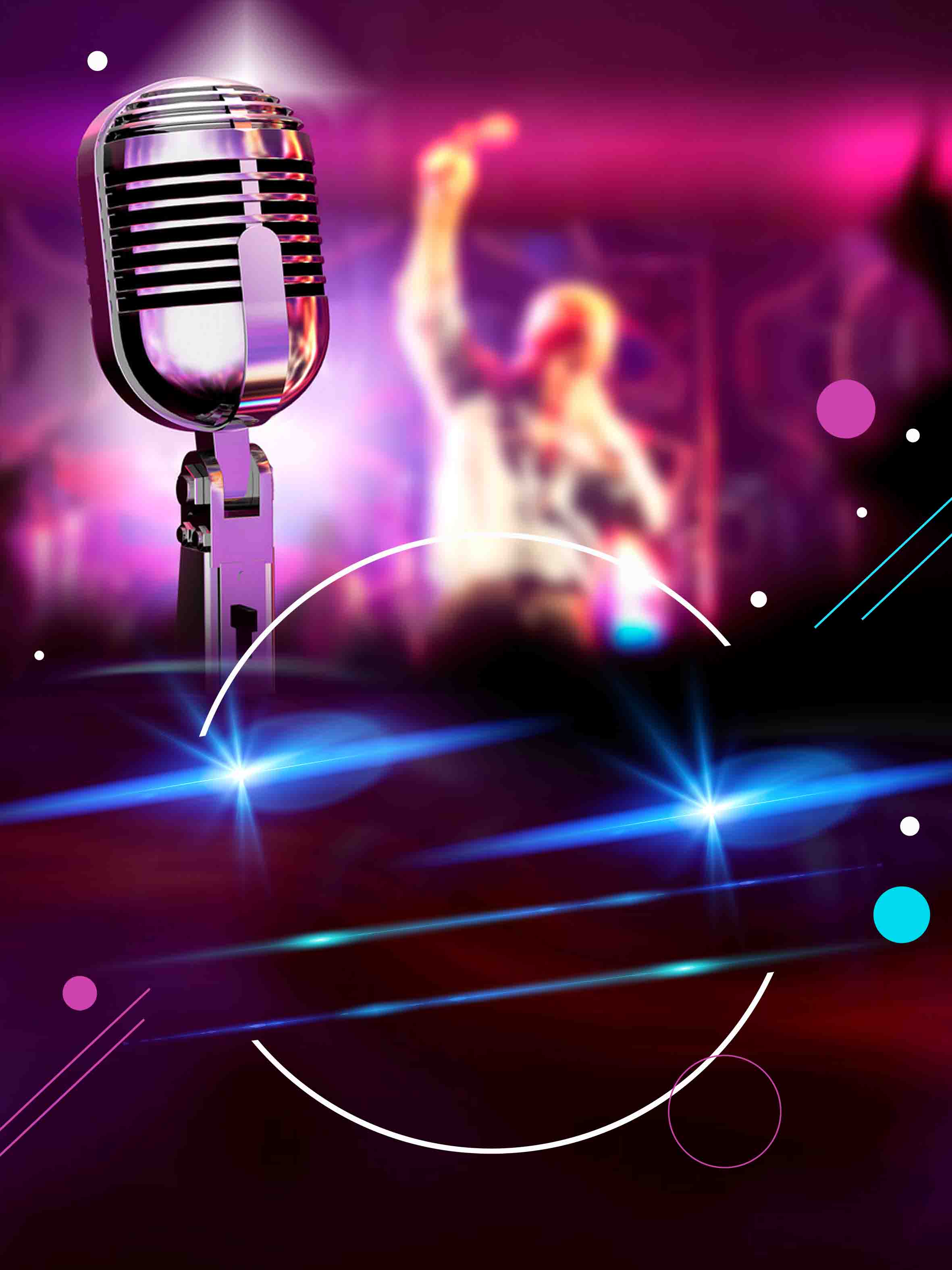 A Cool Red Bar Karaoke Party Corporate Events Microphone ...