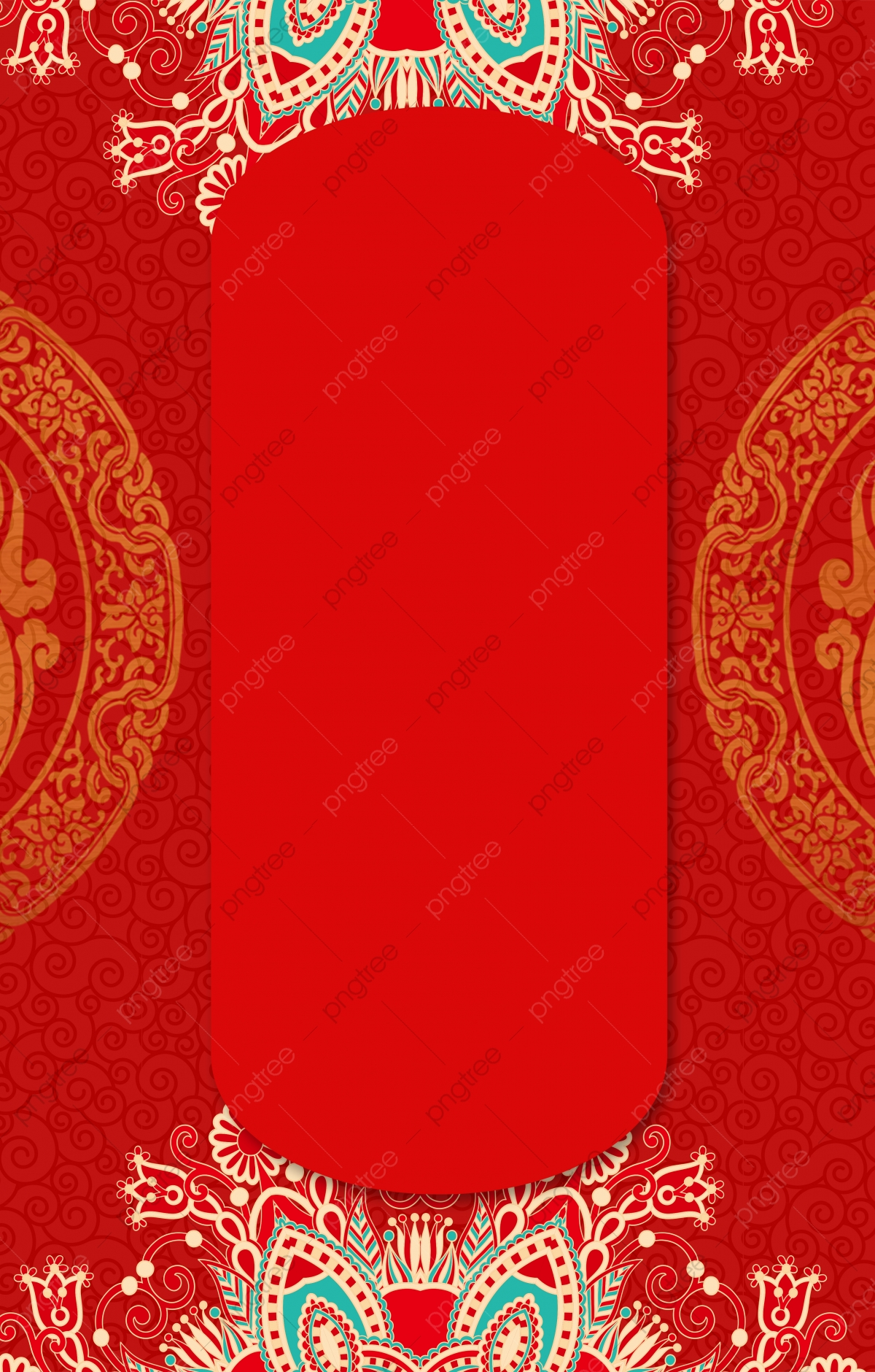 Wedding Invitation Card Red Ad Chinese Style Wedding Invitation Card Background Image For Free Download