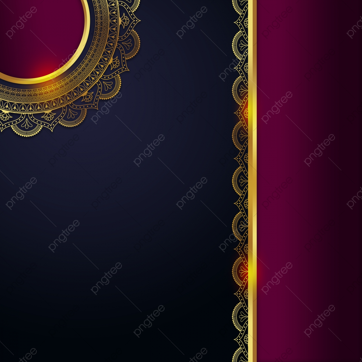 Abstract Mandala Vector Floral Background Royal Wedding Invitation Card Mandala Floral Background Background Image For Free Download