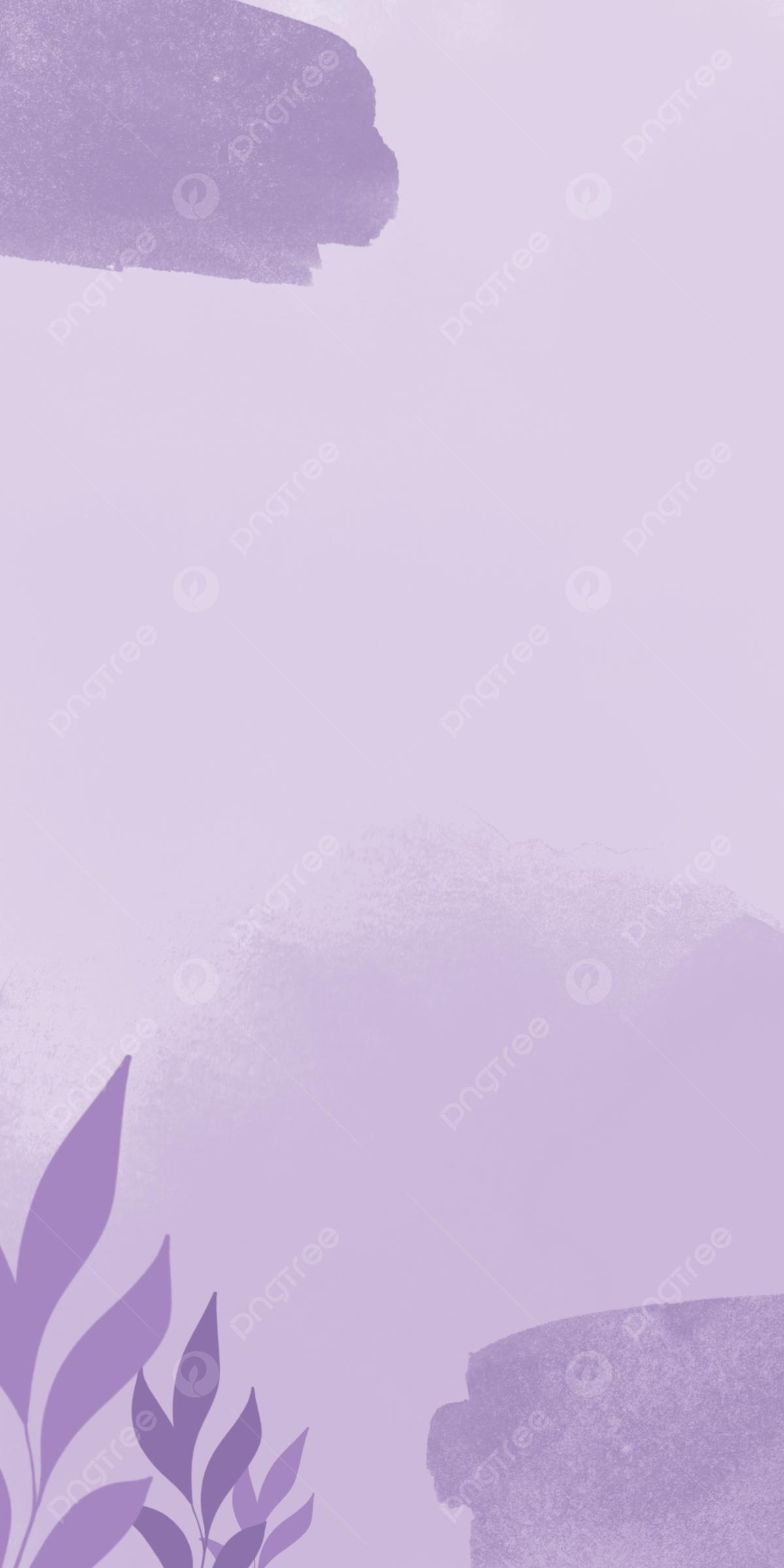 Wallpaper Aesthetic Purple Watercolor, Aesthetic Watercolor ...