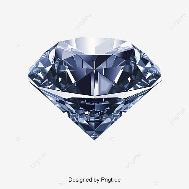 Diamond Joyería Creativa Joyas Elementos De Diamante Archivo PNG y ...