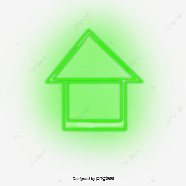 cool neon green up arrow cool verde l226mpada de n233on png e