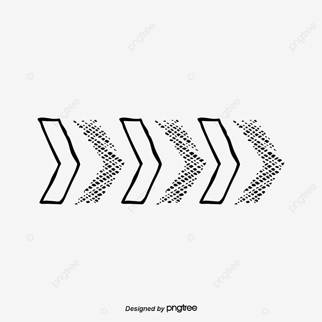 Hand Drawn Black And White Pencil Cartoon Vector Arrow Black Vector Pencil Vector Cartoon Vector Png Transparent Clipart Image And Psd File For Free Download