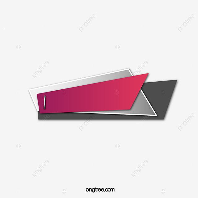 origami irregular shape irregular shape colorful banner png and