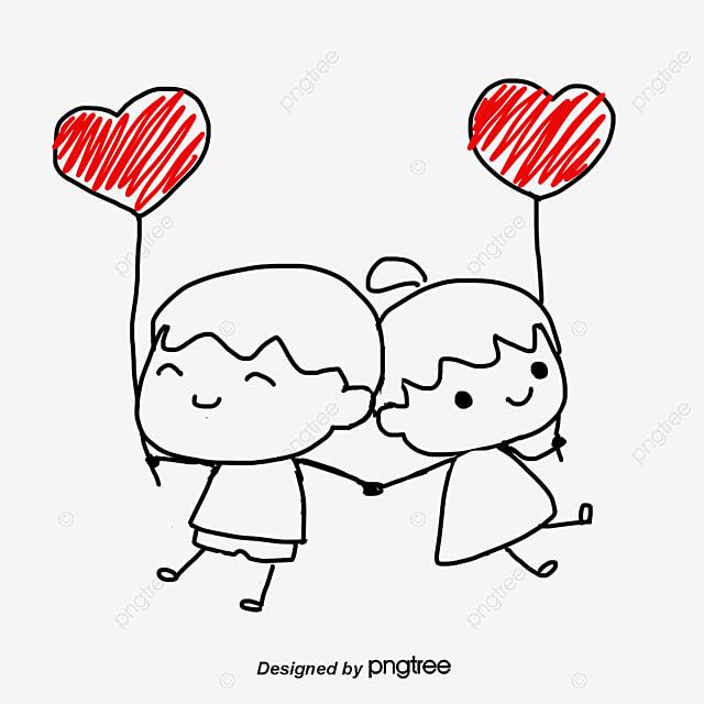 dessin de couple dessin les amants coeur png et vecteur