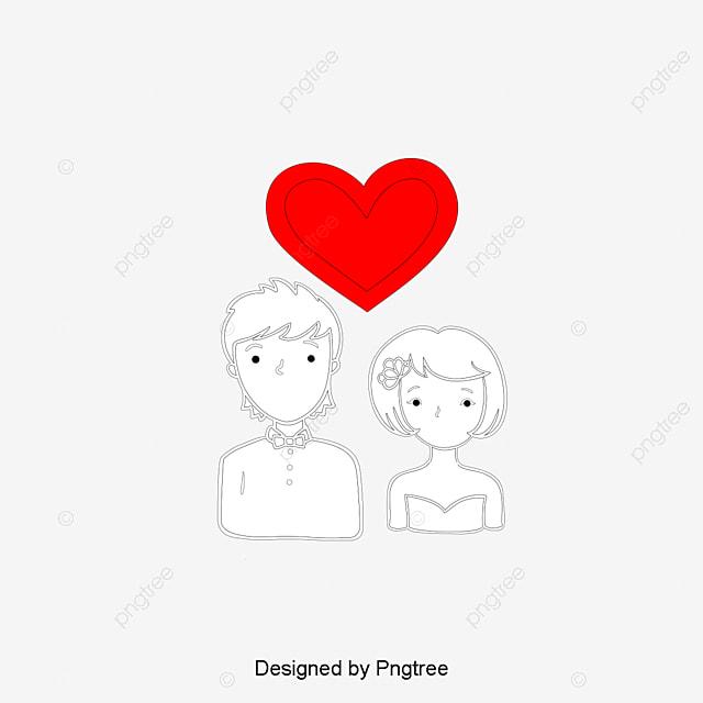 dessin de couple dessin les amants coeur fichier png et