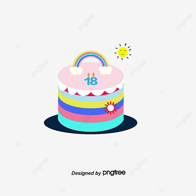 Desenho De Bolo De Aniversário Fondant Bolo De Bolo De Creme