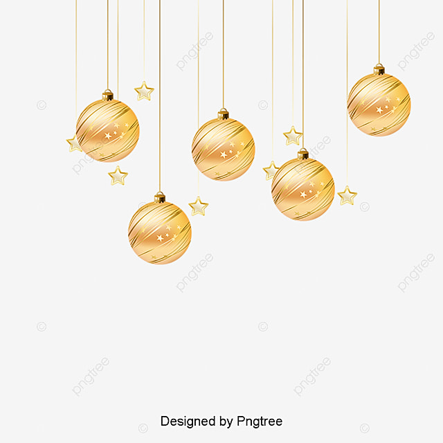 Star Christmas Ornaments Pendant PNG And Vector
