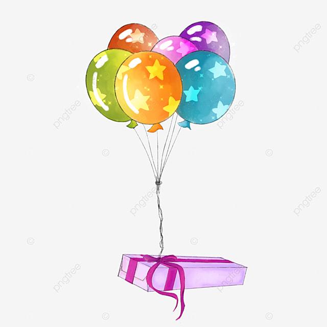 Préférence Boîte - cadeau de ballons cadre décoratif, L'anniversaire D  MV96