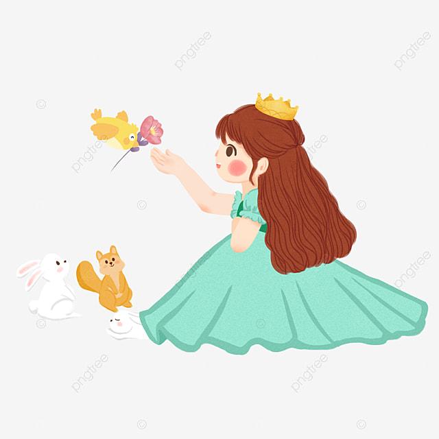 Cartoon Princess Cartoon Clipart Cartoon Princess Png
