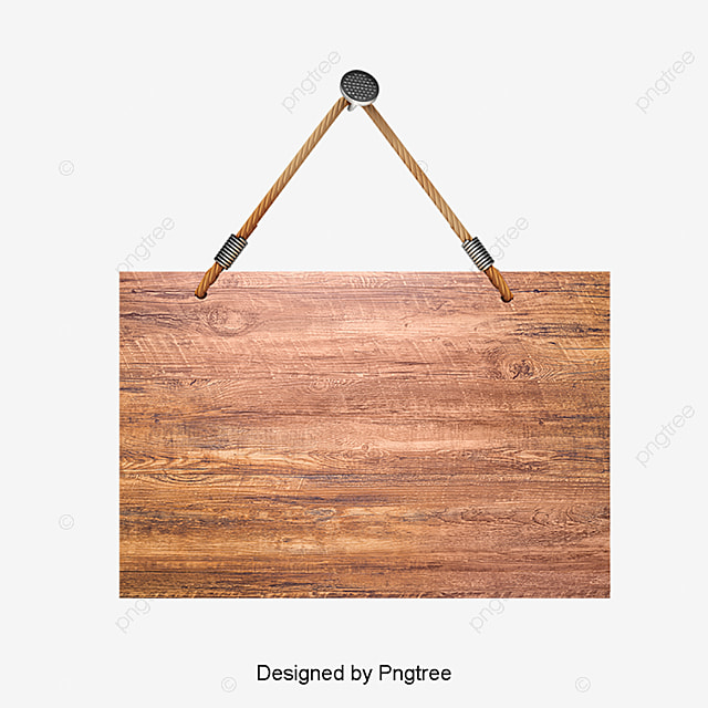 Wooden Sign Hanging Sign Clipart Mupai Billboard Png