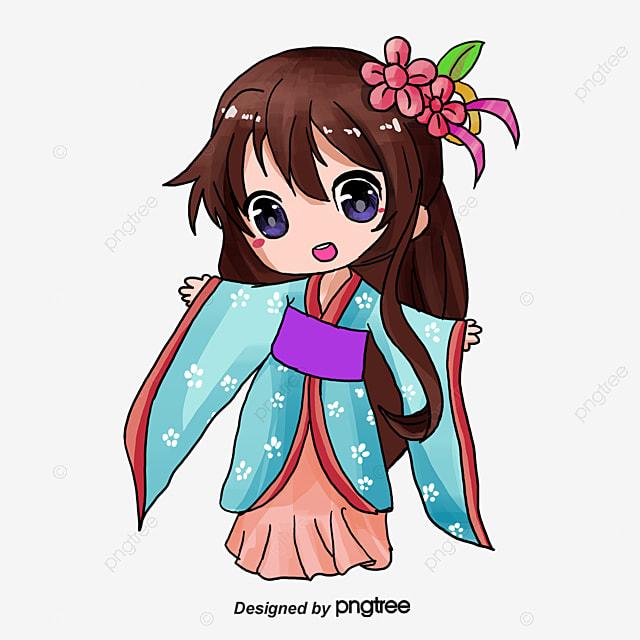 Chica De Dibujos Animados, Chica De Dibujos Animados, Anime Girl ...