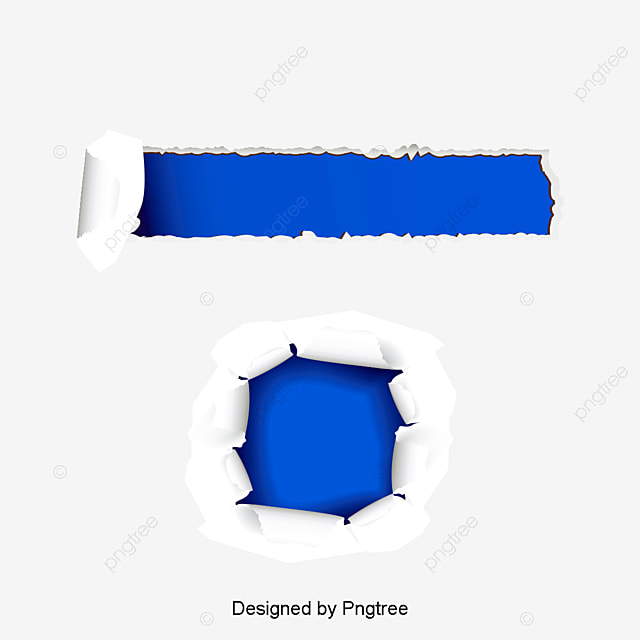 Creative Blue Rift Blue Crack Material Png Image And