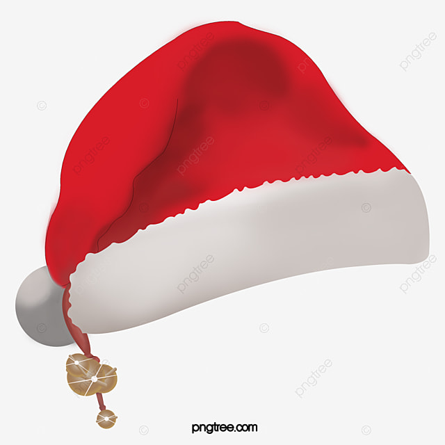christmas santa hat transparent element material christmas santa rh pngtree com