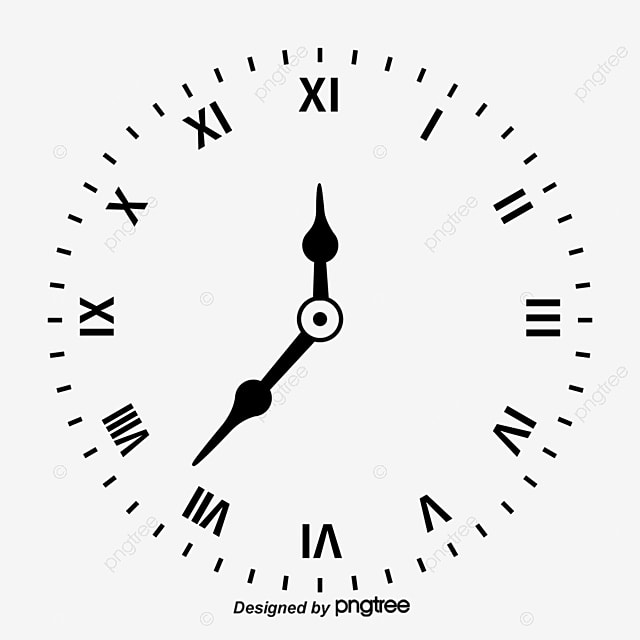 Clock Black Watch Clock Vector Png And Vector With