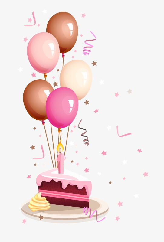 birthday balloons  birthday  balloon  cake png and vector for free download