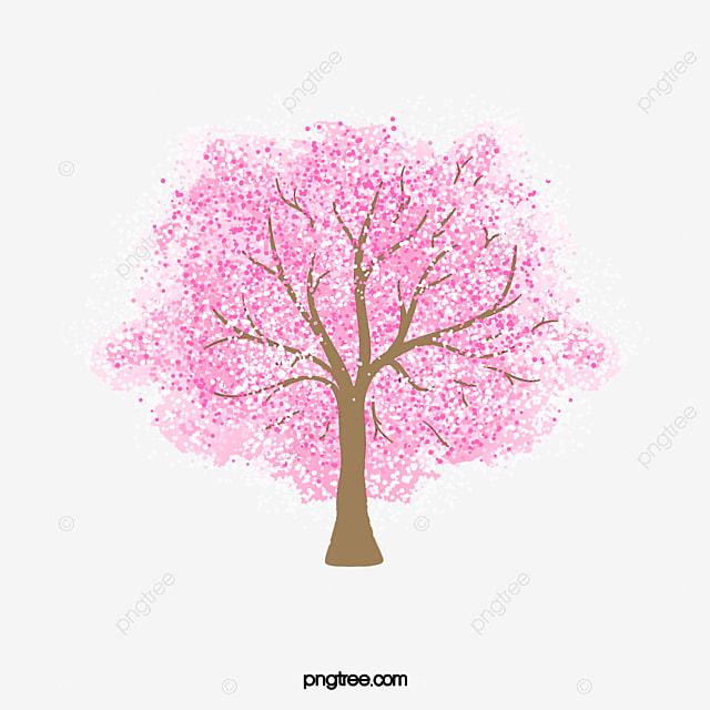 Cartoon tree cartoon tree fotos hermoso cerezo arboles material de antecedentes transparent tree - Dessin arbre chinois ...