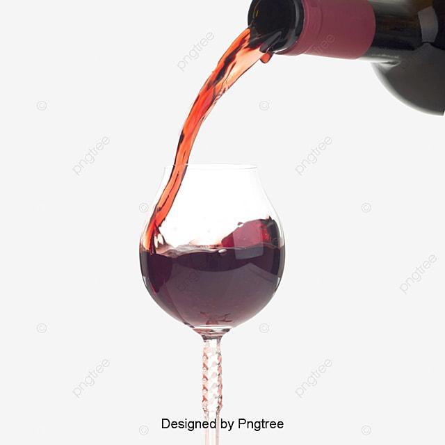 le vin rouge le vin rouge un verre de vin fichier png et