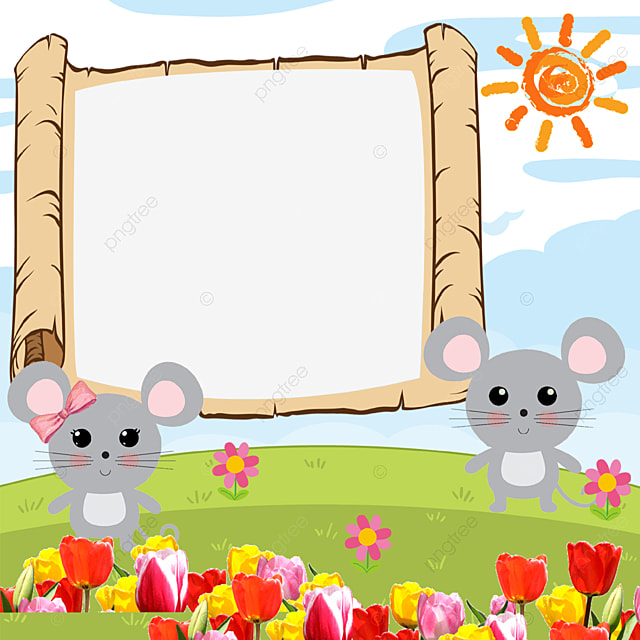 Cartoon Picture Frame Children Frame Flowers Cartoon Frames Png Transparent Clipart Image And Psd File For Free Download