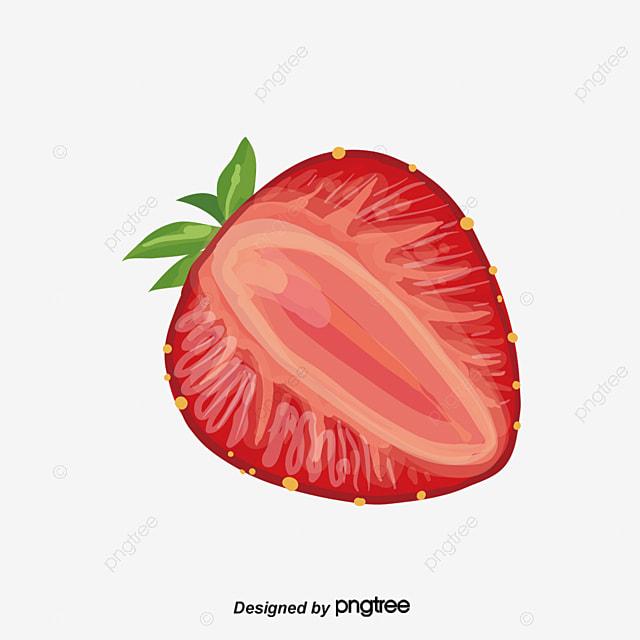 Creative 3D De Dibujos Animados De Frutas Pintadas A Mano