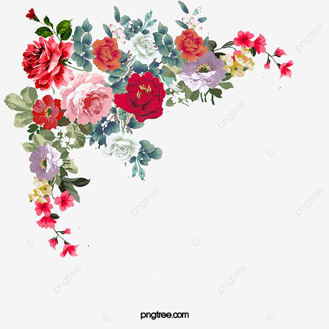 Les Fleurs De Fleurs De Fond En Matiere De Fleurs Floral Motif De