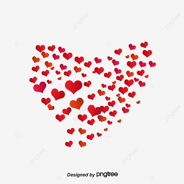 Dibujos Animados De Amor árbol Corazón Pintado Cartoon Pintado A