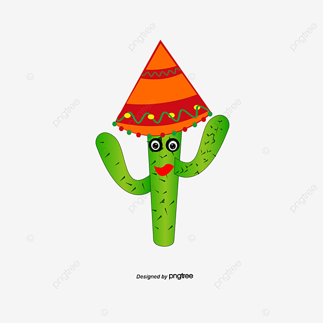 mexican cactus mexico cactus cartoon png and vector for