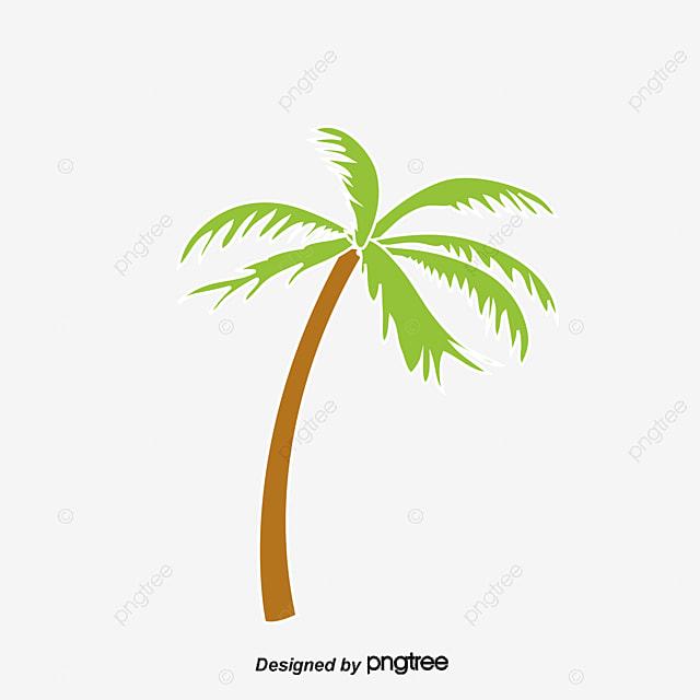 Dessin de soleil palmiers des vagues de la mer dessin le soleil palmier fichier png et psd pour - Dessin de palmier ...