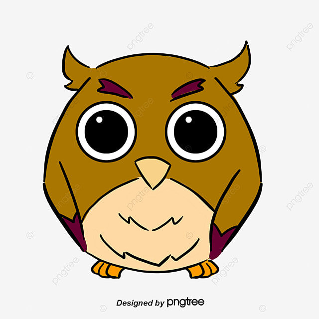 reading owl reading owl cartoon png and vector for free download rh pngtree com Black and White Owl Reading Owl Reading a Book