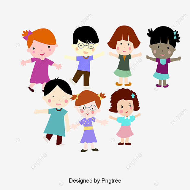 cute kids cartoon cartoon lovely children png and vector for free