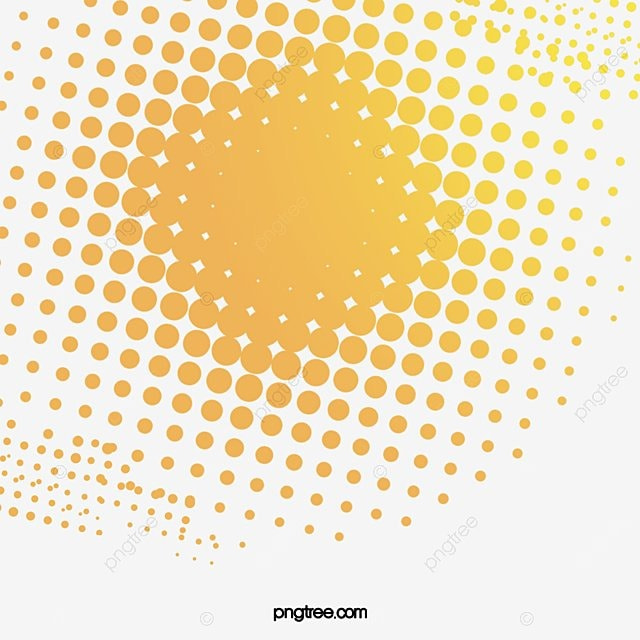 Yellow gradient background dot size, Yellow, Graduated Size, Dot PNG Image for Free Download