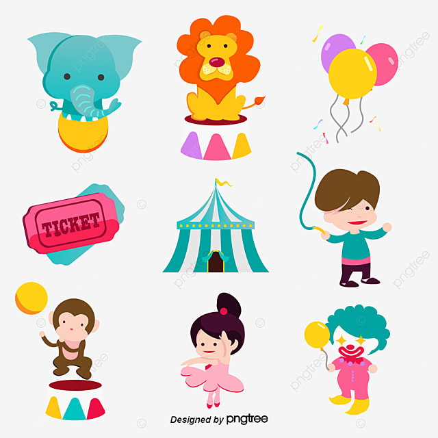 Circus PNG And PSD File For Free Download