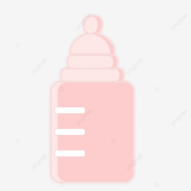 Pink baby bottle, Pink, Baby, Feeding Bottle PNG Image for ...