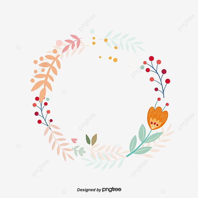 couronne dessin de fleurs couronne vecteur png et vecteur